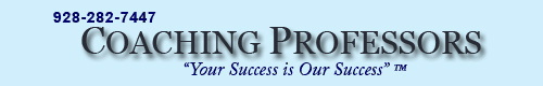 Coaching Professors -  Your Success is Our Success